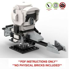Lego Star Wars Brickheadz - Scout Trooper Mandalorian - PDF INSTRUCTIONS ONLY