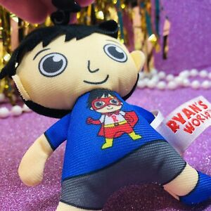 ULTRA RARE HTF Ryan's World SERIES 1 Plush Keychain Backpack Clip Bonkers Toys