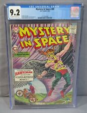 MYSTERY IN SPACE #89 (Adam Strange/Hawkman) CGC 9.2 NM- DC Comics 1964