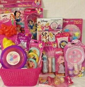 NEW KIDS PRINCESS DISNEY EASTER TOY gift basket BATH TUB TOYS OUTDOOR PLAY SET