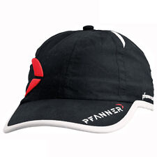PFANNER Baseballcap Kappe Mütze Cap Baseball schwarz Logo Kopfbedeckung Kopf