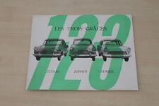 184635) Ford Zodiac Zephyr Consul - Belgien - Prospekt 1966