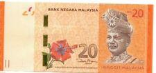 MALAYSIA 20 Ringgit Unc (ND2012) BEAUTIFUL NOTE - BARGAIN!