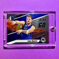Luka Doncic HOT PANINI MOSAIC GIVE AND GO MAVS SPECIAL INSERT CARD - Mint!