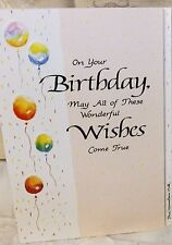 Blue Mountain Card On Your Birthday May All Of These Wonderful Wishes B1G2F