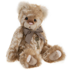 CHARLIE BEARS PLUSH COLLECTION BEAR PEACH COBBLER - 46cm