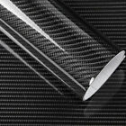NEW 3D 5D Glossy Carbon Fiber Wrap Vinyl Decal Film Sticker Car Air Release Wrap
