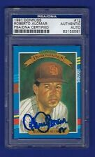 1991 Donruss Diamond Kings #12 Roberto Alomar - PSA/DNA Authenticated - Padres