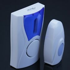 Door Bell Remote Control Wireless Cordless Digital Chime Ring Range 100M 32 Song