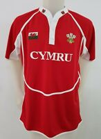MAGLIA SHIRT RUGBY GALLES MAVAV TAG.L MAILLOT JERSEY ITALY CAMISETA WALES R10