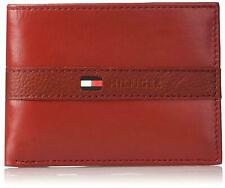 Tommy Hilfiger Men's Leather Bifold Wallet with Removal Card Holder