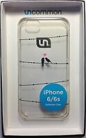 Love On A Wire Clear Deflector Ultra Thin Hard Shell Case Apple iPhone 6/6s