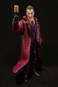 SU-LTC-JK: 1/12 Purple Wired Trench Coat for Mezco One:12 Joker (No Figure)