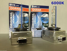 2PCS NEW OEM OSRAM XENARC D3S 66340 6000K 35W HID XENON LIGHT BULBS SET