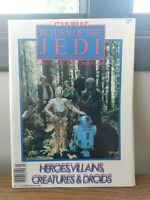Star Wars Return Of The Jedi Compendium Heroes Villains Creatures & Droids 1983