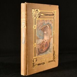 1913 Clair De Lune Troubadour Romances Michael West Illustrated