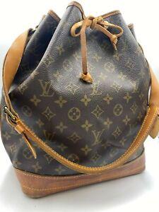 Auth Louis Vuitton Monogram Noe M42224 Shoulder bag NS10-0249