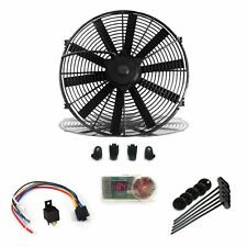 "Super Cool Pack 12 "" Fan, Fixed Temp Switch, Harness, & Brackets & Additive"