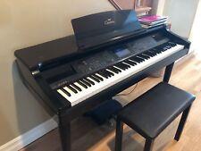 Yamaha Clavinova CVP-96 Black Digital Keyboard