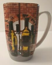 Disney Epcot Food & Wine Festival Coffee Cup Mug Beveled Wine Bottles on Front