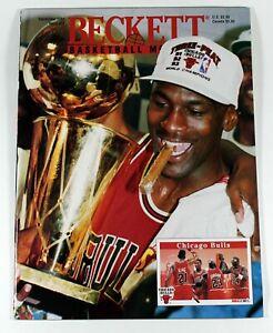 Beckett Basketball Magazine Michael Jordan September 1993 Issue 38 Championship