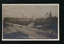 Cheshire BIRKENHEAD Town Hall Hamilton Sq used 1914 RP PPC