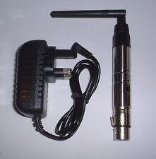 2. 4 G sans fil Dongle DMX (possibilité d'utiliser) UK stock Come prise uk