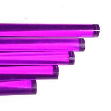 "Purple Acrylic Rod 5/8"" dia (72"" long) (2 pieces)"