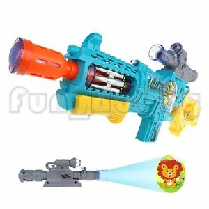 Electric Sound and Light Projection Capabilities Toy Gun