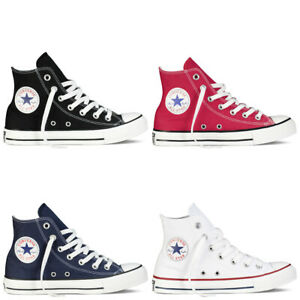 Canvas Pumps Mens Womens Chuck Taylor All Low Ox High Top Trainers