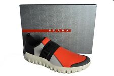 New Authentic PRADA Mens Shoes Sz US10 EU43 UK9 4D3136