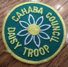 Girl Scouts Vintage Uniform Patch Girl Scout Cahaba Council Daisy Troop