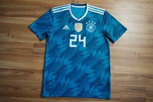 SIZE S GERMANY NATIONAL TEAM 2018/2019 AWAY FOOTBALL SHIRT JERSEY TRIKOT SMALL