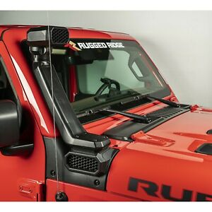 Rugged Ridge 2018-2020 Fits Jeep Wrangler JL 2020-2021 JT Low High Mount Snorkel