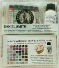 Daniel Smith Mineral Watercolor Mixing Set 6-5 ml Tubes + Watercolor Ground NEW
