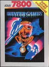 Winter Games  (Atari 7800, 1987) New in the Box(NIB) NTSC