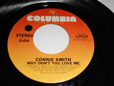 CONNIE SMITH VG++ Why Don't You Love Me 45 Loving You Columbia 3-10135 7""