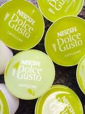 100 x NESCAFE DOLCE GUSTO CAPPUCCINO MILK PODS ONLY