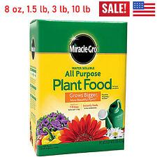 Miracle Gro Plant Food All Purpose Garden Houseplant Grow Flowers Fertilizer