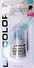 L.A Colors eyeshadow .10 OZ *Snow White* loose intense shimmer w/ built in brush