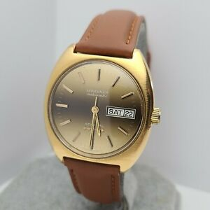 Vintage Longines Admiral 5 Star Men's automatic watch B-3025.1 day/date 1970s
