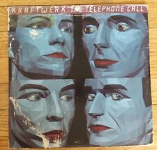 "Kraftwerk The Telephone Call 1986 12"" Warner Record"