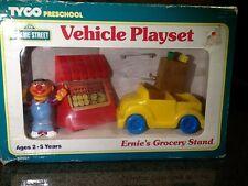 1995 Tyco Sesame Street Vehicle Playset - Ernie's Grocery Stand - NIB