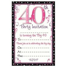 Birthday Adult Invitation Cards
