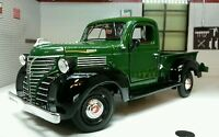 G LGB 1:24 Scale Green 1941 Plymouth Lorry Pickup Truck Diecast Model Railway