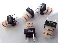 pack of 5 TOKO 166NNF-10264AG band pass transformer coil 9mm x 9mm x 15mm 10264