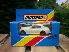 MATCHBOX MB31 de 1983 ROLLS ROYCE SILVER CLOUD Neuf boite jamais ouverte scellée