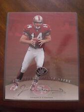 Jim Druckenmiller 49ers Leaf 1997 Autographed Authentic Signature 8x10 Card