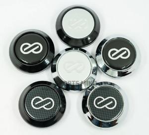4pcs 64mm Auto Car Wheel Center Hub Caps for ENKEI Emblem Logo Auto for VW