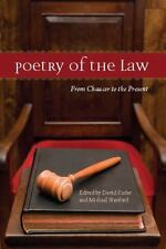POETRY OF THE LAW - NEW PAPERBACK BOOK David Kader & Michael Stanford, Editors